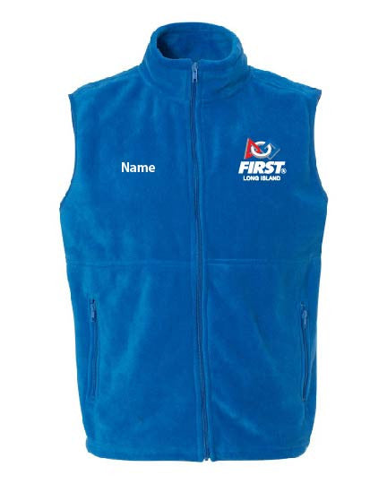 FIRST LI Sport Fleece Full-Zip Vest - CC9631