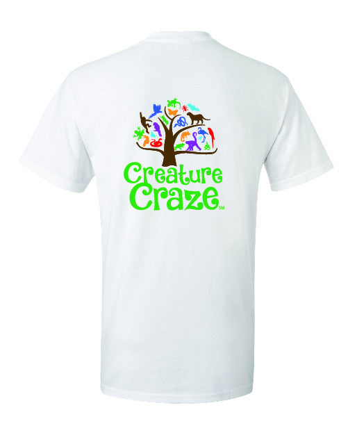 FIRST LI FIRST LEGO League, Jr.  (FLL Jr.) Creature Craze Tee -2000/2000B/2000L