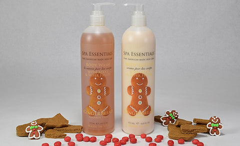 Gingerbread Body Wash and Hand Lotion Dual Holiday Pack