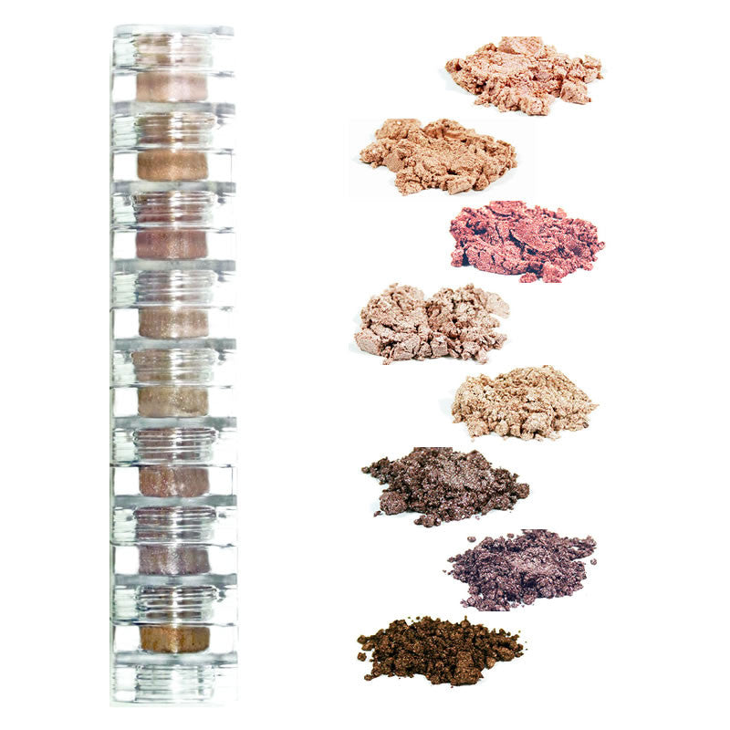 spice mineral eye shadow 8 stack