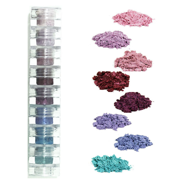 wild flowers mineral eye shadow 8 stack