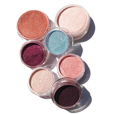 Hot summer night mineral makeup