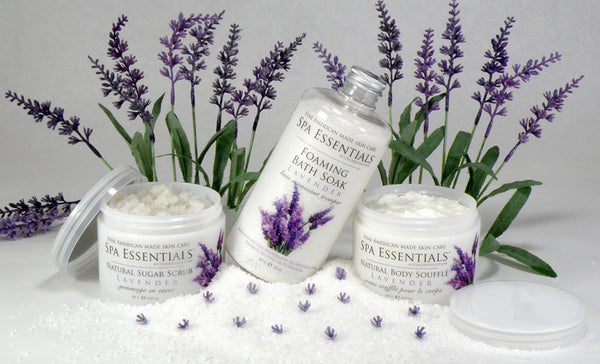 lavender bath and body collection