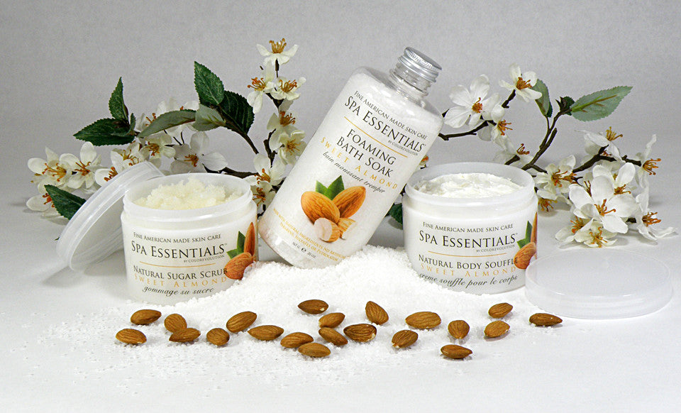 Sweet Almond Bath and Body Collection