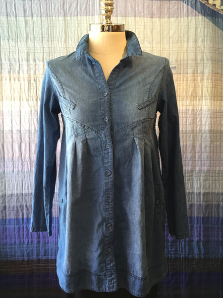 Denim Lakeside-Cowgirl Tunic