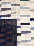 Quilt Falling Rain Whites and Blues