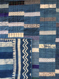 Quilt Falling Rain Blues and Blues custom