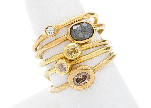 Black Diamond Stacking Ring (sold separately)