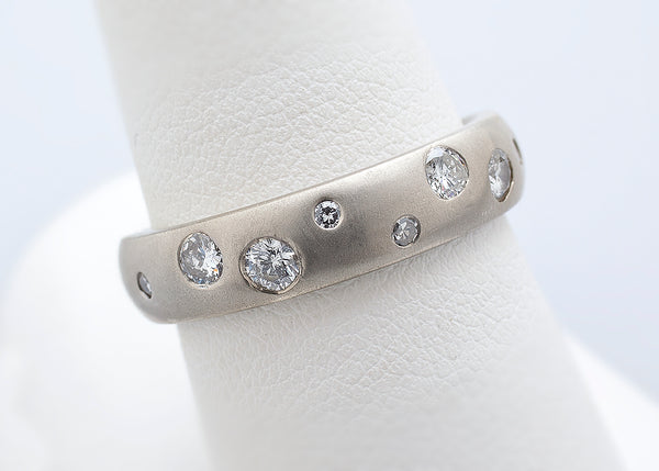Extra diamonds ring