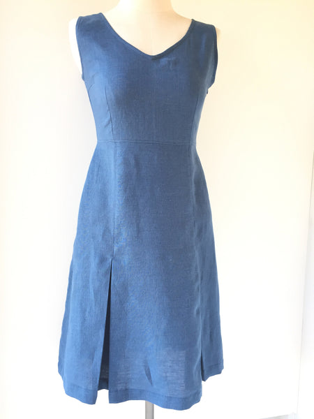 Megan dress blue