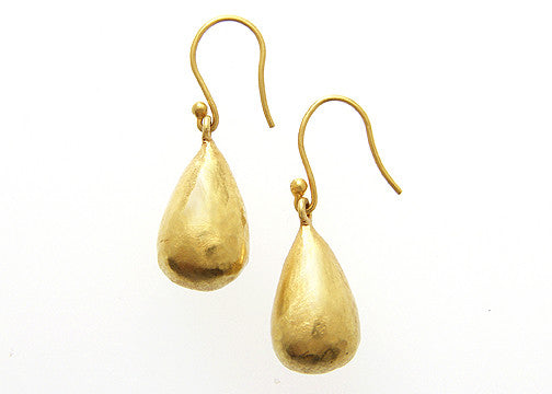 18k Large gold drops