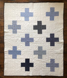 Quilt Blue Cross