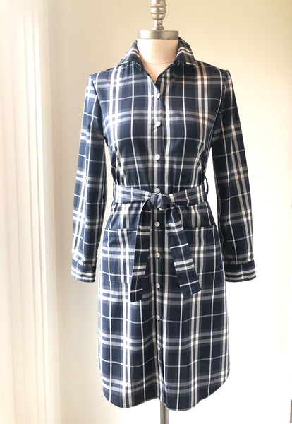 Shirt dress, Burberry plaid