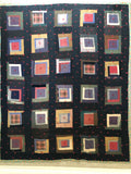 Quilt vintage 'All squared up'