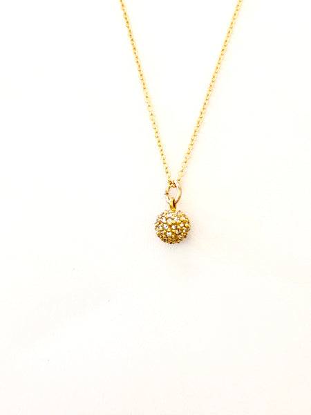 Baby disco necklace