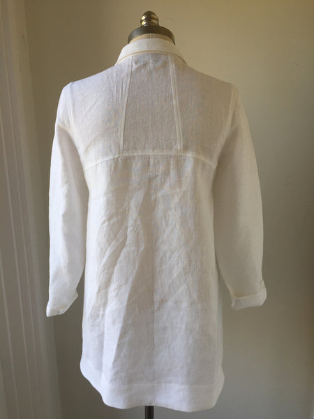 Linen Lakeside-Cowgirl Tunic