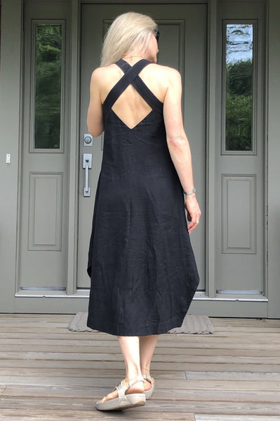 Sundress, open back style