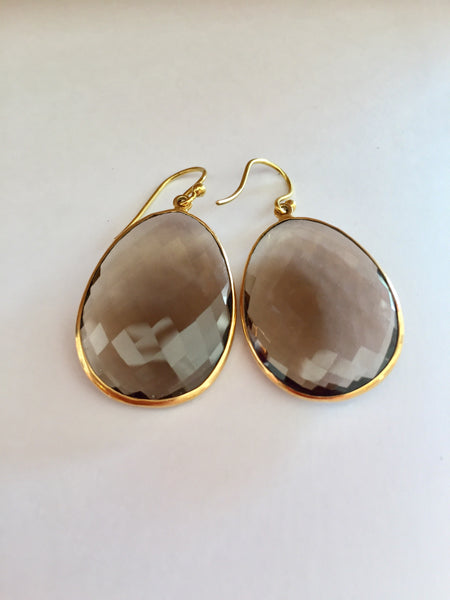 Smokey quartz shields