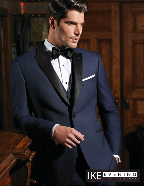 Navy Blue Blake Tuxedo By Ike Behar® Evening #PM1015
