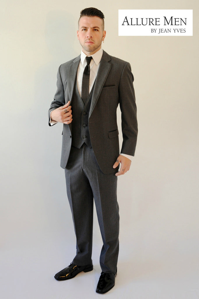 Steel Grey Allure Bartlett Tuxedo by Allure Men®