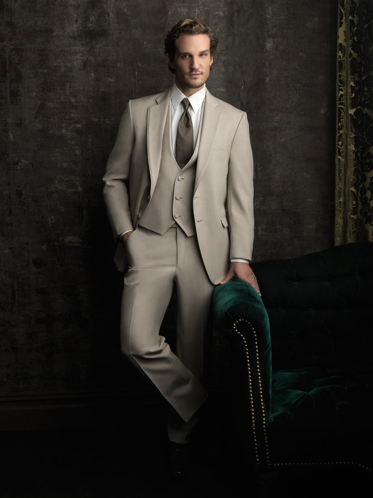 Rent the Tan Destination Bartlett Tuxedo by Allure Men® Online