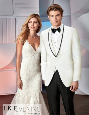 "Rent the Ivory Waverly ""Charles"" Tuxedo Online by Ike Behar®"