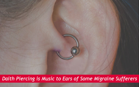 Daith Piercing is Music to Ears of Some Migraine Sufferers