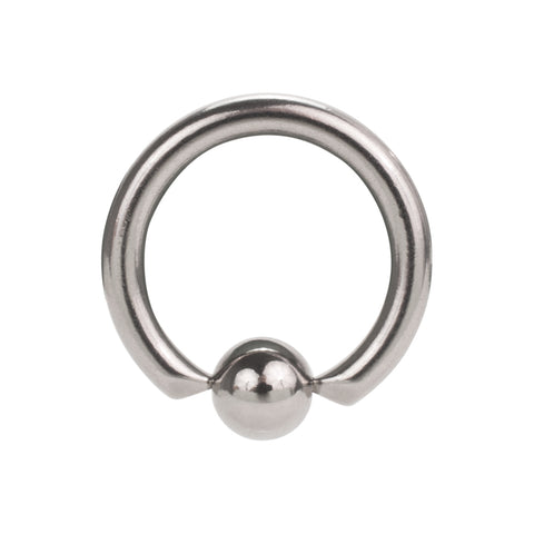 Stainless Steel Captive Bead Ring Silver Body Piercing Ball Closure CBR