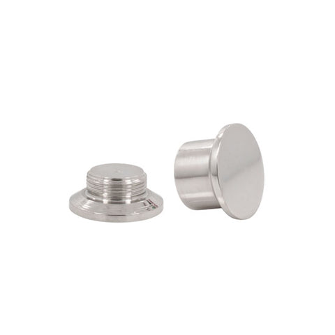 PAIR Stash Ear Plugs Stainless Steel Screw PAIR