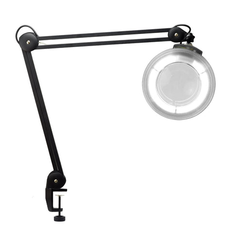 Black - Magnifying Adjustable Tattoo/Piercing Lamp