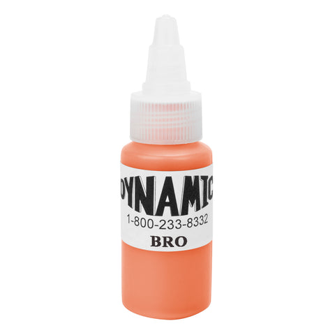 Dynamic Tattoo Ink Color Bright Orange 1 Ounce - Piercing Pros