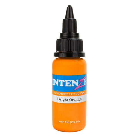 Intenze Premium Authentic Tattoo Ink Advanced Formula Bright Orange