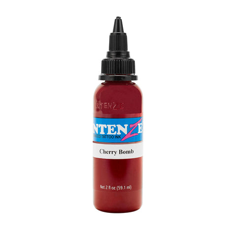 Intenze Premium Authentic Tattoo Ink Advanced Formula Cherry Bomb - Piercing Pros