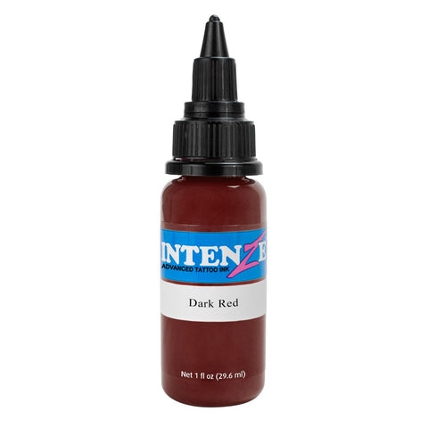 Intenze Premium Authentic Tattoo Ink Advanced Formula Dark Red