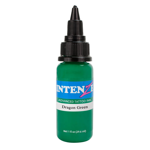 Intenze Premium Authentic Tattoo Ink Advanced Formula Dragon Green