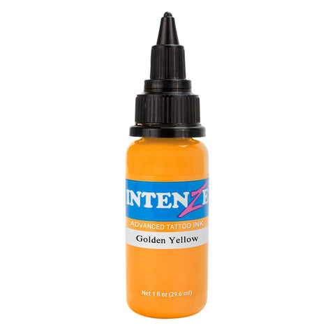 Intenze Premium Authentic Tattoo Ink Advanced Formula Golden Yellow