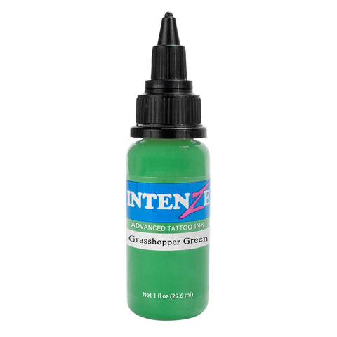 Intenze Premium Authentic Tattoo Ink Advanced Formula Grasshopper Green