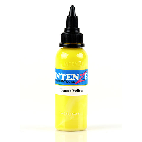 Intenze Ink | Lemon Yellow | 2 oz