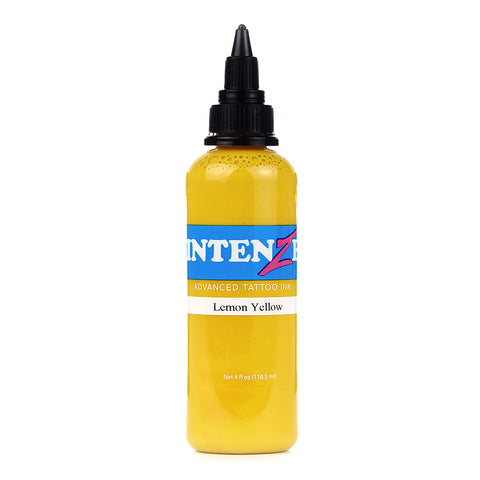 Intenze Premium Authentic Tattoo Ink Advanced Formula Lemon Yellow