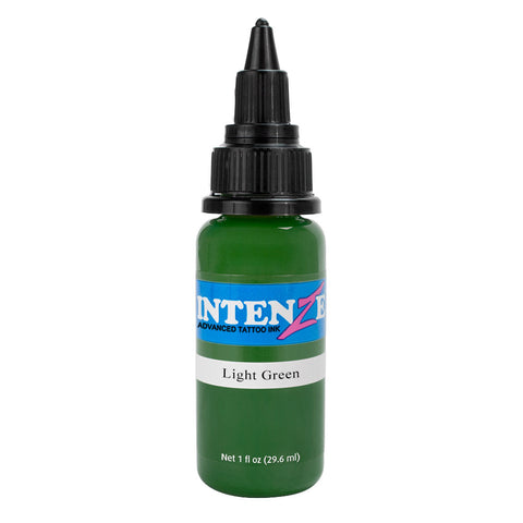Intenze Premium Authentic Tattoo Ink Advanced Formula Light Green - Piercing Pros