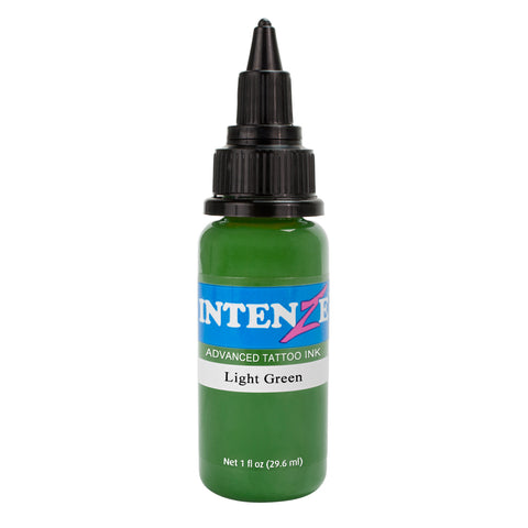Intenze Premium Authentic Tattoo Ink Advanced Formula Light Green