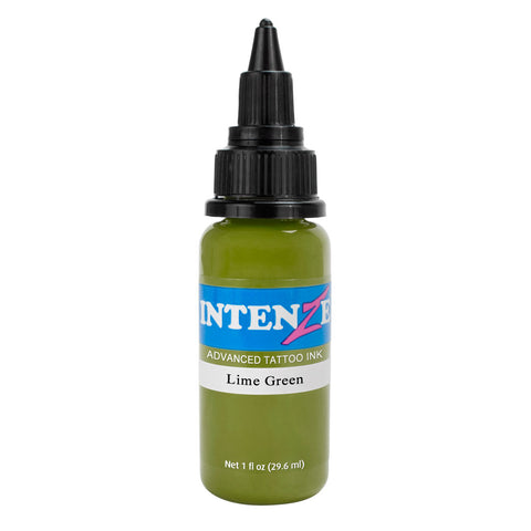 Intenze Premium Authentic Tattoo Ink Advanced Formula Lime Green
