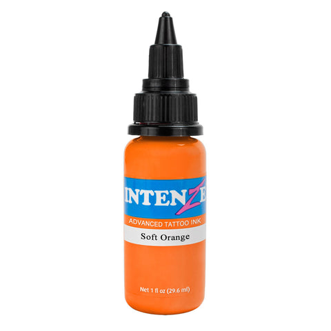 Intenze Premium Authentic Tattoo Ink Advanced Formula Soft Orange