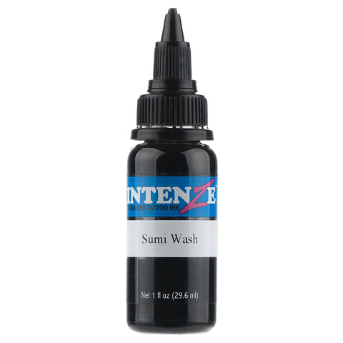 Intenze Sumi Wash Tattoo ink - Pick Your Size