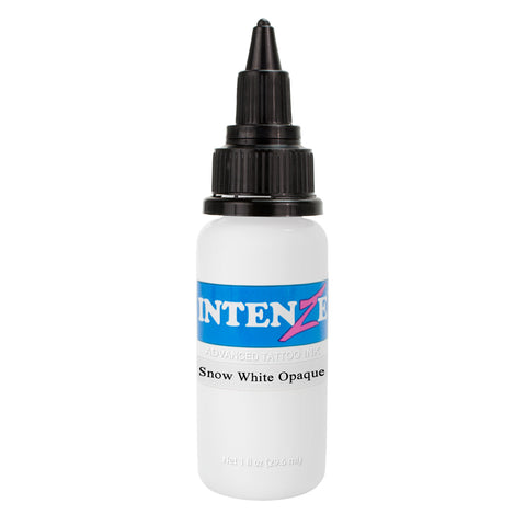 Intenze Premium Authentic Tattoo Ink Advanced Formula Snow White Opaque - Piercing Pros