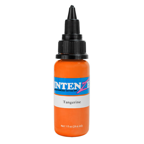 Intenze Premium Authentic Tattoo Ink Advanced Formula Tangerine