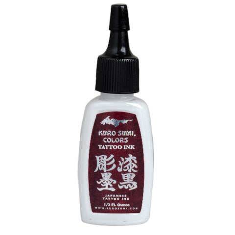 Samurai White Authentic Kuro Sumi Japanese Tattoo Ink Colors