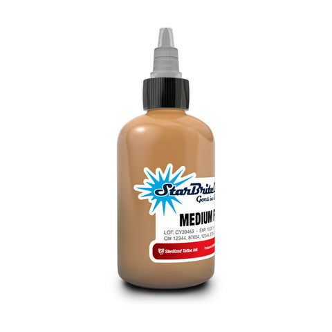 Starbrite Tattoo Ink Mid Flesh Tone - Pick Your Size