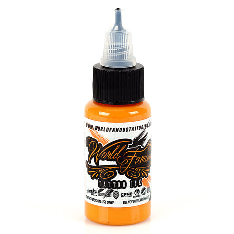 Acropolis Orange World Famous Tattoo Ink Pigment Color