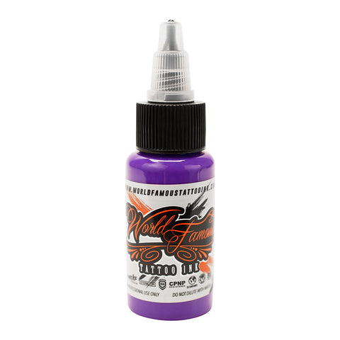 Galaxy Purple World Famous Tattoo Ink Pigment Color